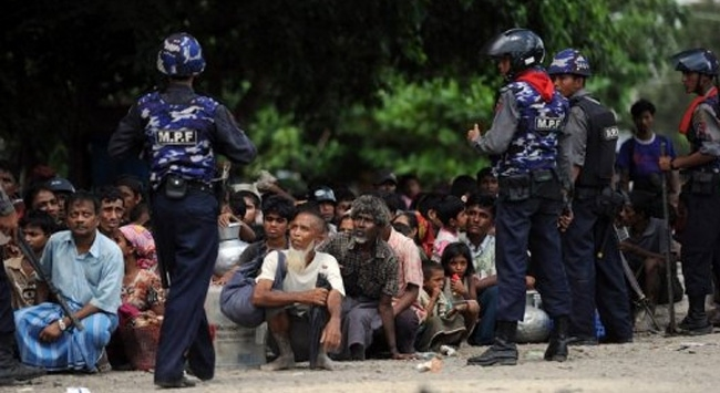 Myanmarlı mülteciler zincirlenmiş halde bulundu