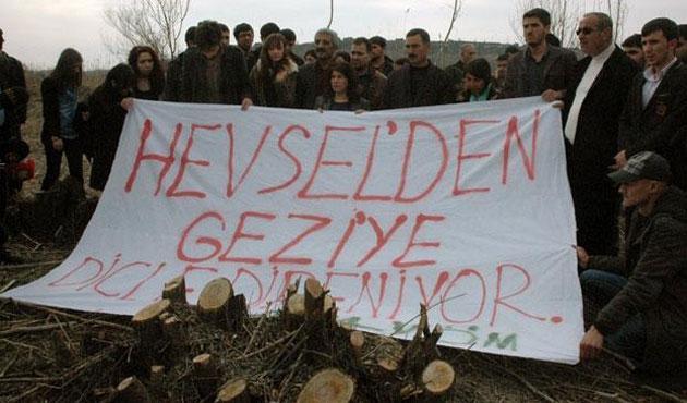 Hevsel'den Gezi çıkarma planları suya düştü