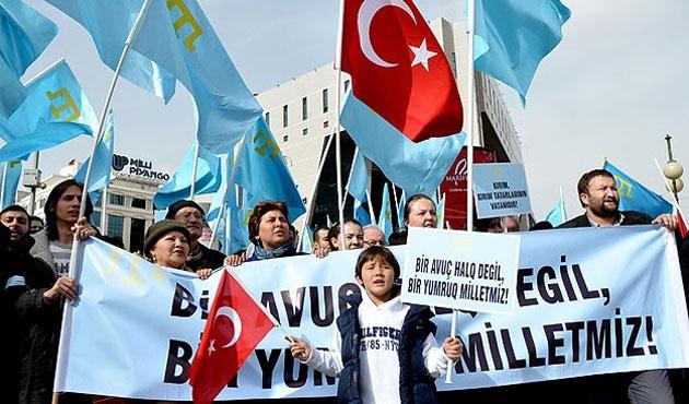 Kırım Türkleri 'Ses ver Türkiye' diyor