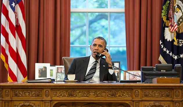 Obama, Putin'le yeniden görüştü