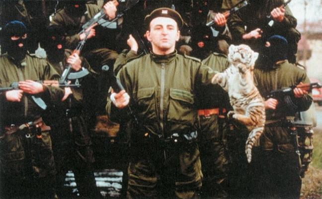 Sırp 'Çetnikler' Kırım'da iddiası
