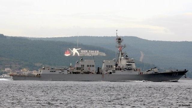 Rus gemisi Çanakkale boğazından geçti