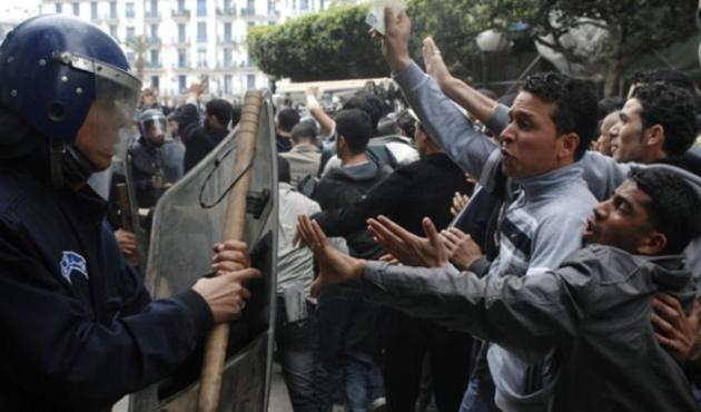 Cezayir'de Arap - Berberi çatışması