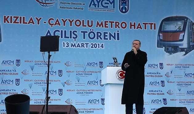 Erdoğan: Hani özgürlükçüydünüz, demokrattınız?