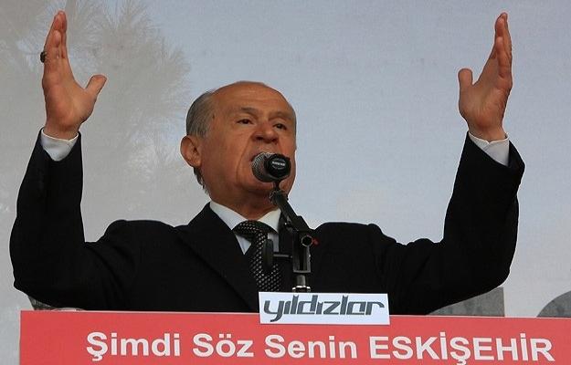 Bahçeli: Hedefi 12'den vurmak için ille de MHP diyeceğiz