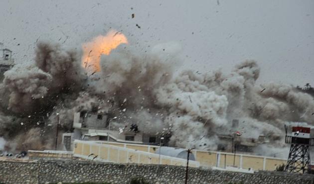 Gazze'deki patlamada altı çocuk yaralandı