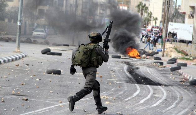 İsrail güçleri yine saldırdı; 11 yaralı