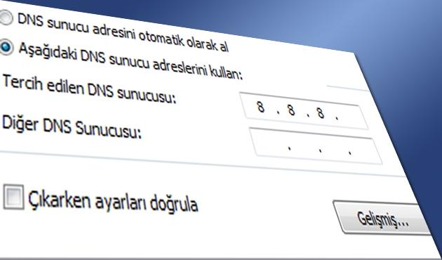 DNS değişikliği güvenlik açığı oluşturuyor