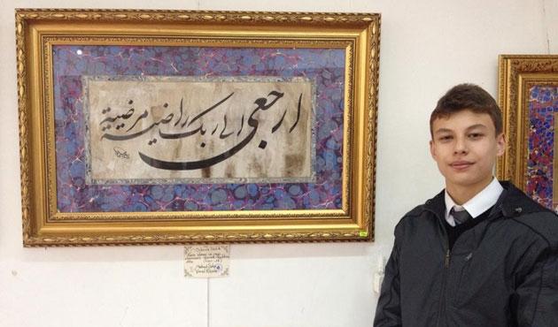 Kütahya'da Suriyeli çocuklar yararına sergi