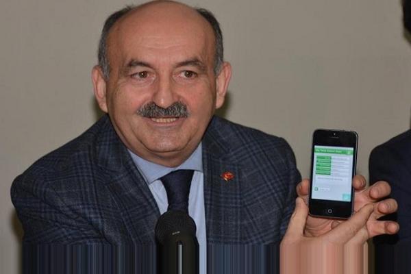 Bakan Müezzinoğlu, telefonla hastaneden randevu alamadı