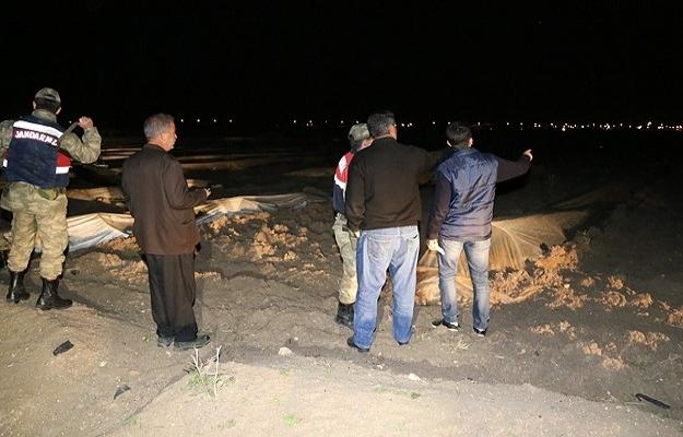 Suriye'den top mermisi düştü