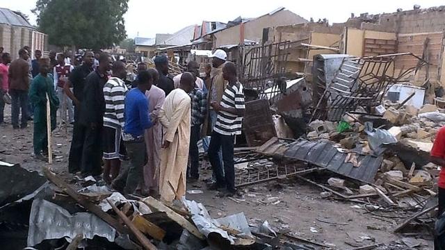 Nijerya'da 250 bin kişi evsiz kaldı