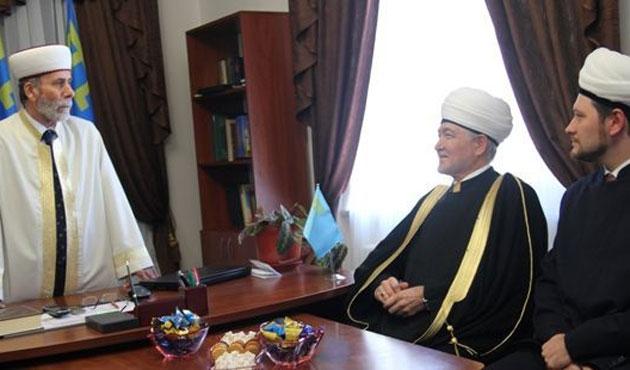 Rusya Müftüler Konseyi Başkanı Kırım'da