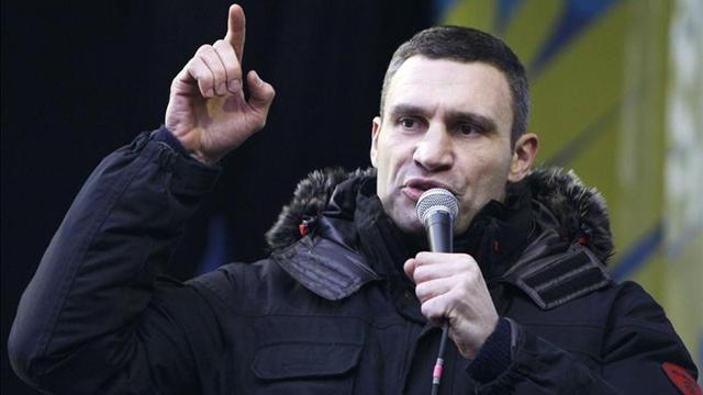 Kliçko, Ukrayna cumhurbaşkanlığı adaylığını çekti