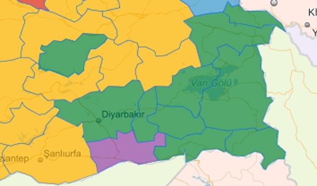 BDP Diyarbakır, Hakkari ve Van'da oy kaybetti