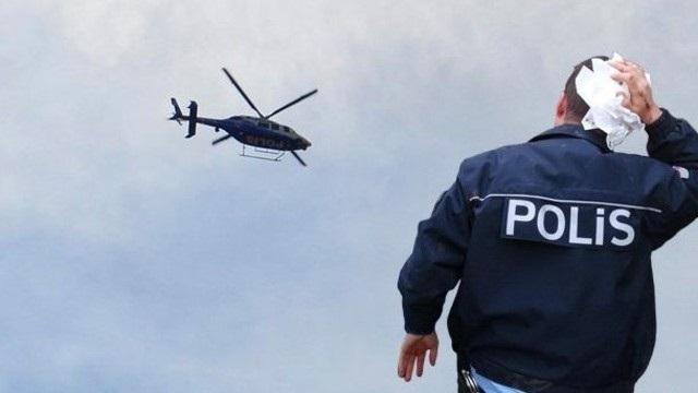 Liseli öğrenciler polisi darp etti