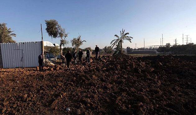 İsrail Gazze'de beş noktayı vurdu