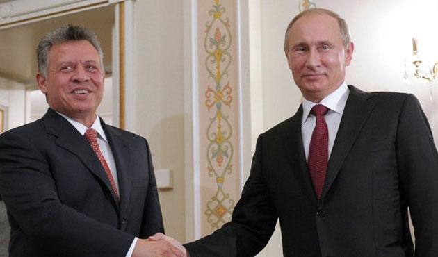 Ürdün Kralı, Rusya'ya gidiyor