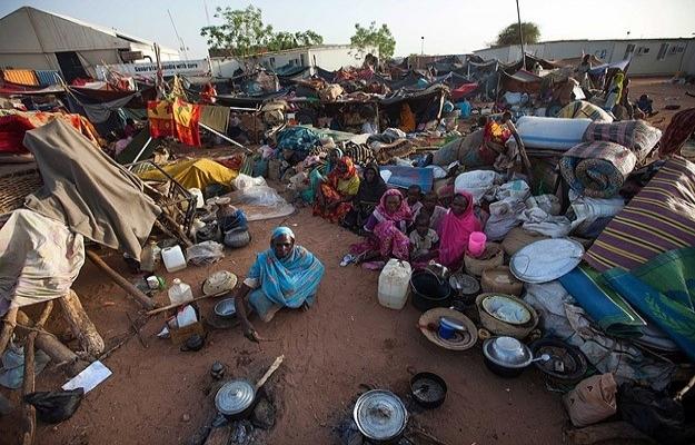 Darfur'da 224 bin kişi çatışmalardan kaçtı