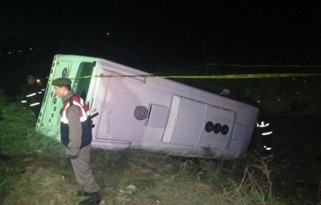 Yurtta trafik kazaları: 5 ölü, 40 yaralı