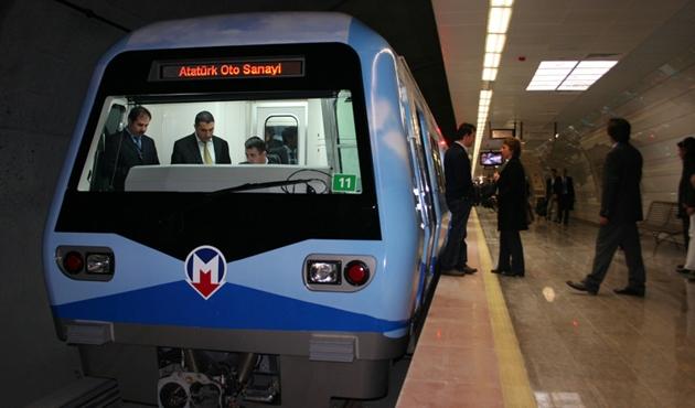 Yenikapı - Havalimanı metrosunda seferler durdu