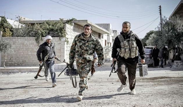 ÖSO da IŞİD'e karşı yardım istedi