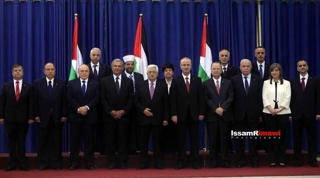 Filistin'de yeni hükümet göreve başladı
