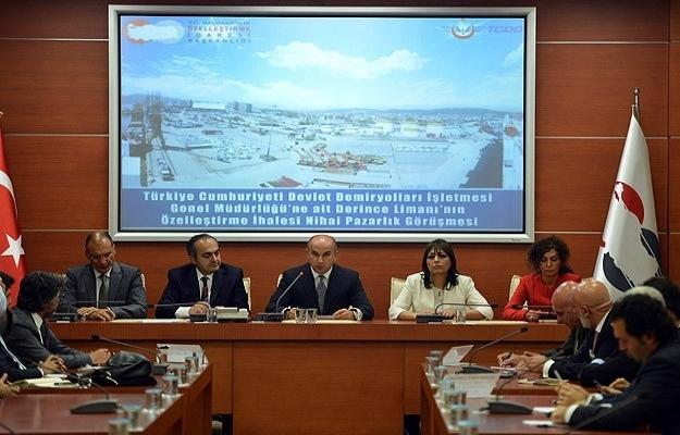 Derince Limanı için en yüksek teklif 543 milyon dolar