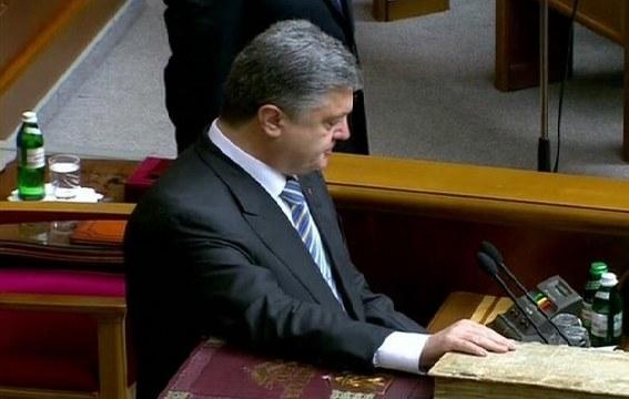 Poroşenko'dan Doğu Ukrayna için ateşkes çağrısı