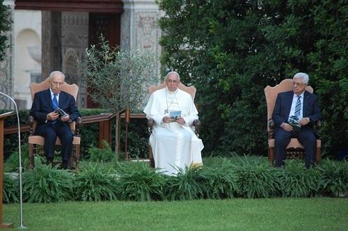 Vatikan'da Ortadoğu'da barış için dua zirvesi