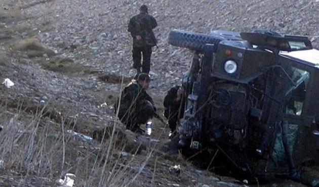 Lice'de askeri aracın geçişi sırasında mayın patladı