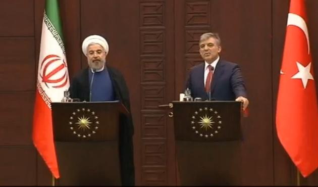 Gül: Ruhani'nin ziyareti dönüm noktası