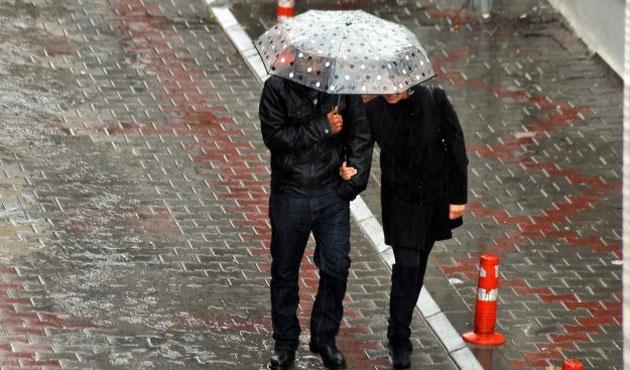 Ege için kuvvetli yağış ve dolu uyarısı
