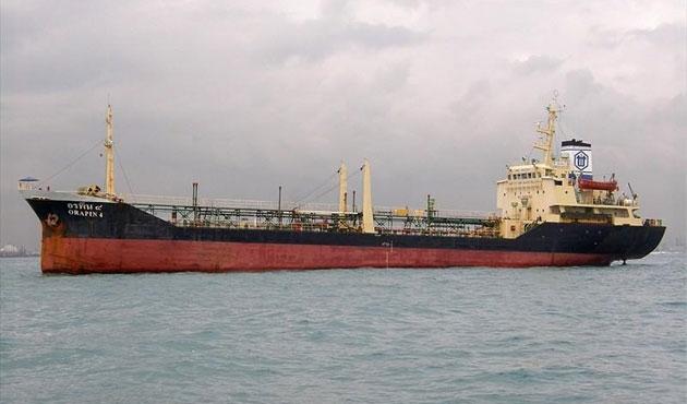 Yunan tankeri Gana açıklarında kayboldu