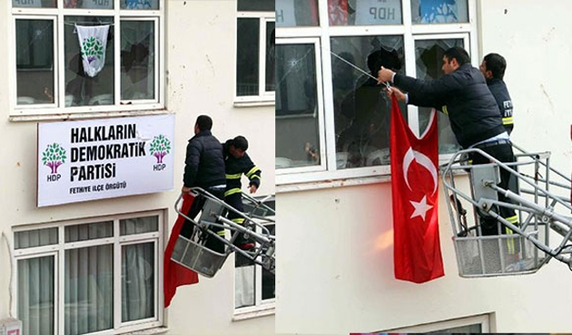 HDP'lilere saldırılara 5 yıl hapis talebi