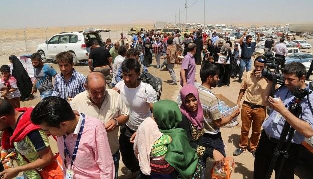 Musul halkı kenti terk ediyor