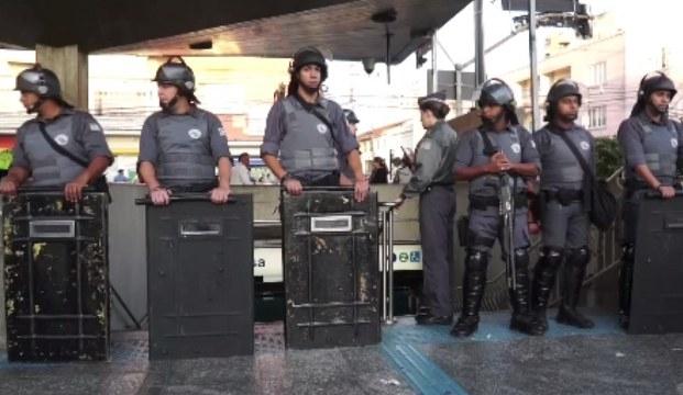 Brezilya'daki metro grevinde çatışma çıktı