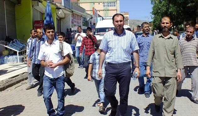 Hani ilçesi esnafından PKK baskısına tepki