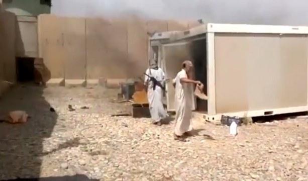 Irak'ta başka bir silahlı grup da Kerkük'e girdi/VİDEO