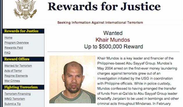 Yedi yıldır aranan Ebu Seyyaf lideri yakalandı