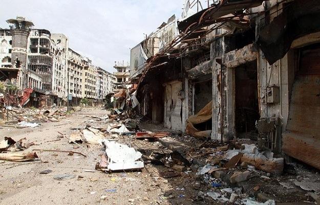 Humus'ta hava saldırısı: 14 ölü