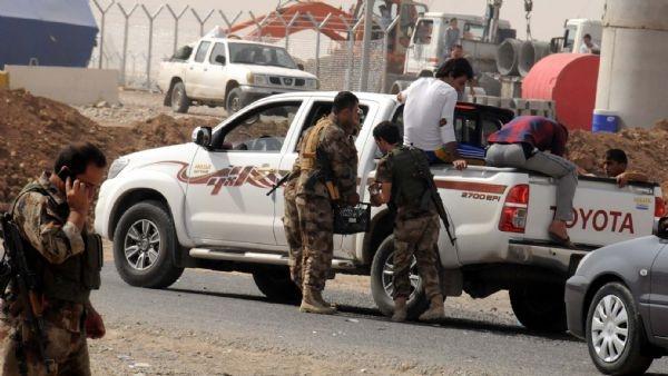 Rehineler İŞİD'in atadığı valinin elinde