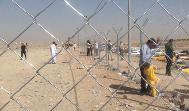 Musul'dan kaçan onbinler Kerkük sınırında / VİDEO