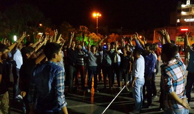 Aydın'da gergin gece