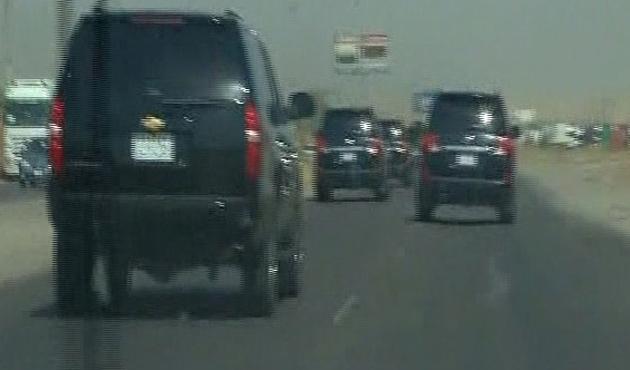 Rehineleri alacak araçlar Musul'a gönderildi
