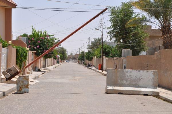 Türkmen bölgesi Tuzhurmatu'da sokaklar bomboş/VİDEO
