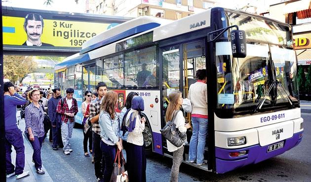 Toplu ulaşıma bir zam da Ankara'da