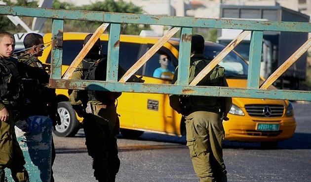 İsrail El Halil'i güvenlik kordonu altına aldı