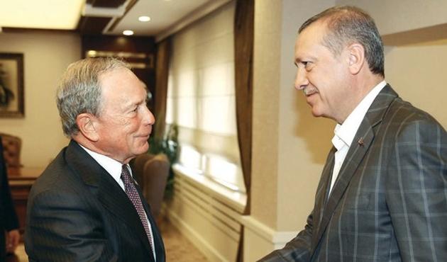 Bloomberg, Erdoğan'la tecrübeleri için görüşmüş