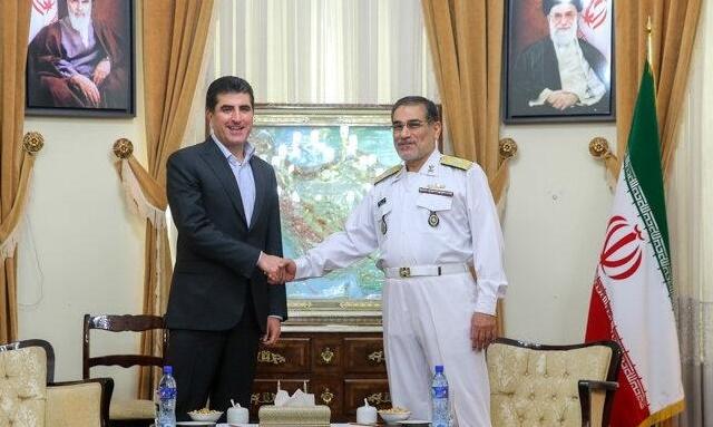 Neçirvan Barzani, IŞİD gündemiyle İran'da